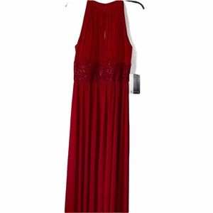 J S boutique NWT full length beaded dress size 8